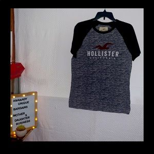 Hollister Men's Shirt Heathered California Knit